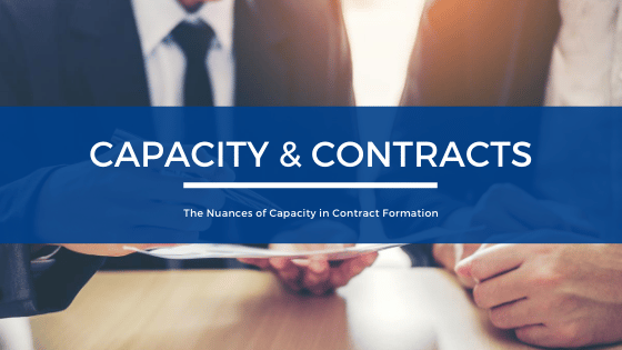 Capacity & Contracts